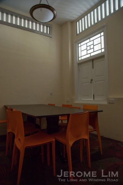 Discussion room.