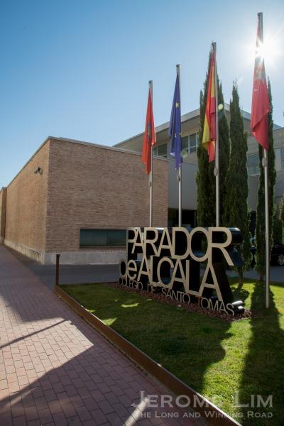 The parador in Alcalá.