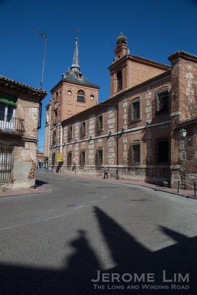 A street in Alcalá de Henares.