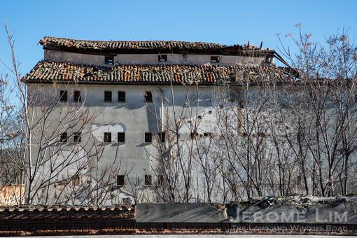 Unseen Alcalá - the former Women's prison behind the parador.