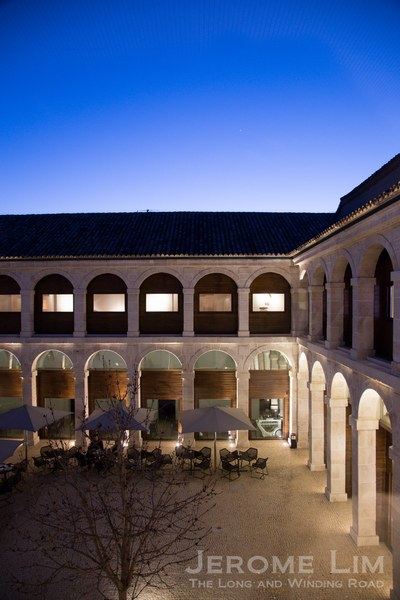The cloisters of the former Convento Santo Tomas.