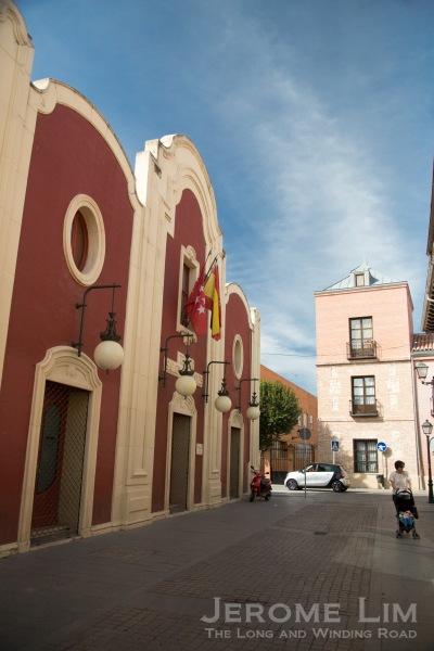 The Teatro Salón Cervantes on Calle Cervantes.