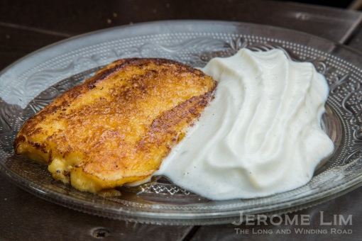 Offerings at Ambigú include the utterly sinful torrija.