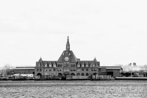 The former Central Railroad of New Jersey Terminal at the Liberty State Park waterfront.