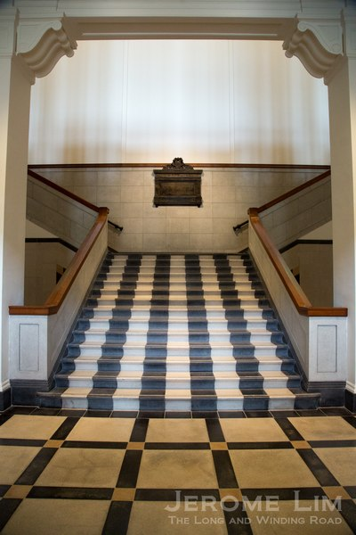 The old stairway that now leads to a new heaven.