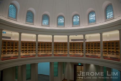 The Rotunda Library.
