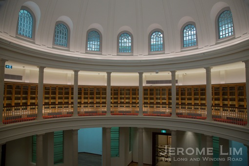 The Rotunda Library.
