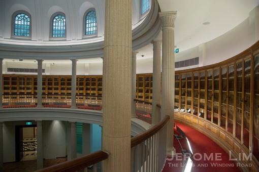 A last look at the Rotunda Library.