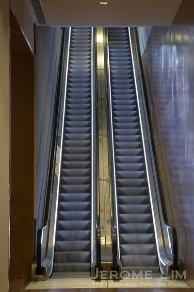 Moving stairways to the new heaven.