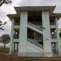 RAF Seletar's last barrack block