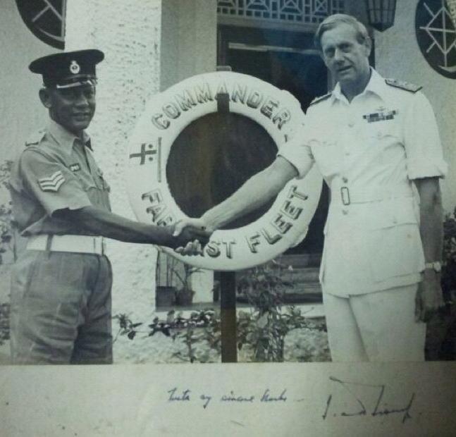Naval Base Police Award