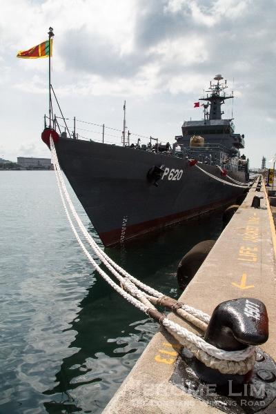 SLNS Sayura, a Sri Lanka Navy Sukanya Class Patrol Vessel.