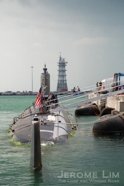 USS Pasadena, a Los Angeles Class submarine.