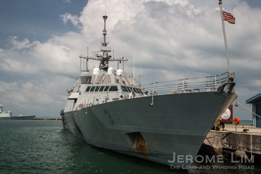 The USS Fort Worth Littoral Combat Ship.