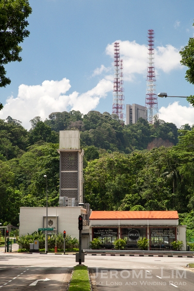 The former Bukit Timah Fire Station, a landmark in my many road journeys.