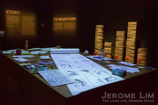 A recreation of another DreamWorks Animation studio real-life workspace.