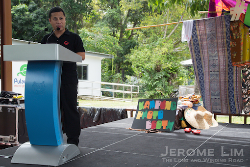 Minister of State, National Development at the opening of Ubin Day 2015.