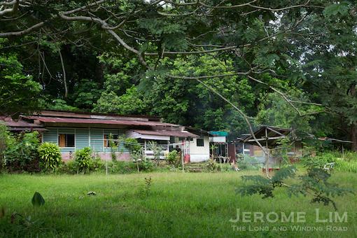 A village house on Pulau Ubin.