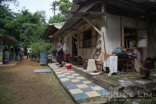 Madam Kamariah's century old Malay kampong house on Ubin.