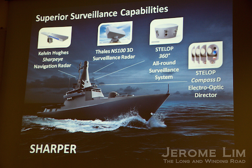 A snapshot of the LMV's Surveillance capabilities.