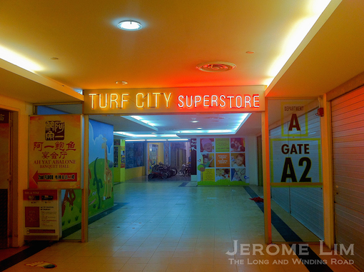 As Turf City - seen in early 2012.