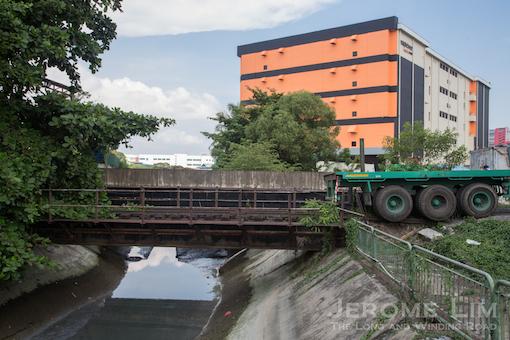 The bridge close to the former Jurong Bus Interchange.