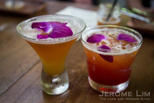 SG50 Cocktails at Halia.