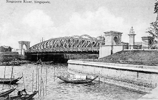 Anderson Bridge, when first completed.