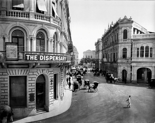 Battery Road at the turn of the century.