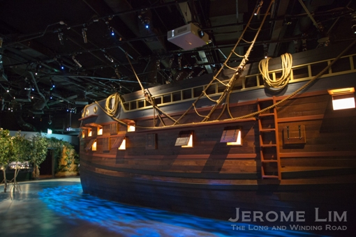 Visitors are taken on a voyage of discovery that spans over 700 years.