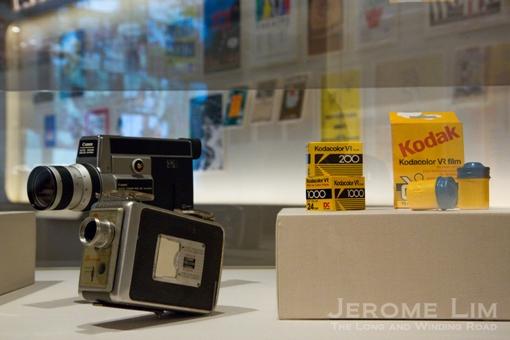 Cameras and film.