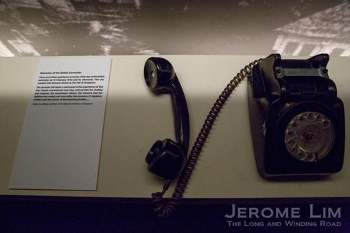 Stories of war through the telephone.