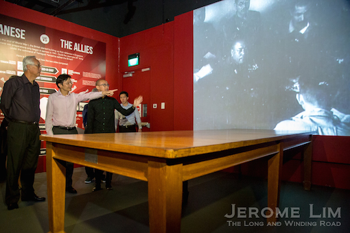 At the Surrender Table, on loan from the Australian War Memorial.