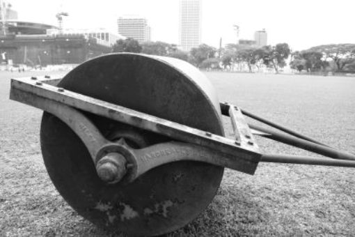 The same roller spotted at the Padang sometime last year.