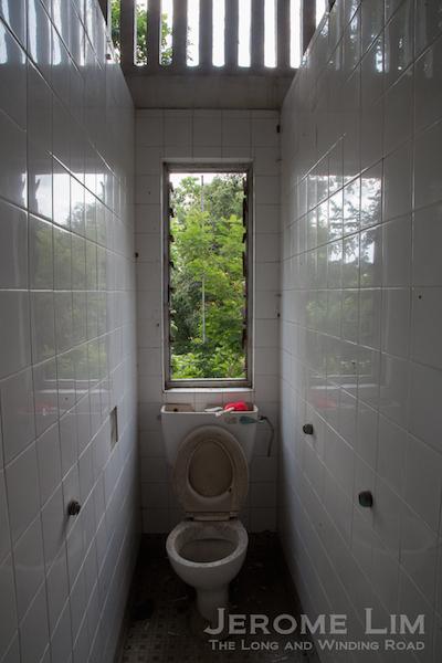 A WC in Block 24.
