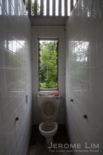 A WC in Block 24.