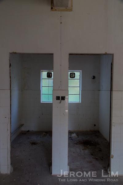 Sanitary facilities.