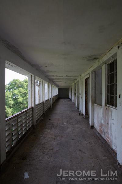 Another corridor in Block 161.