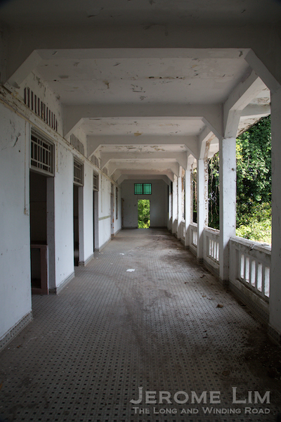 A corridor at Block 37.