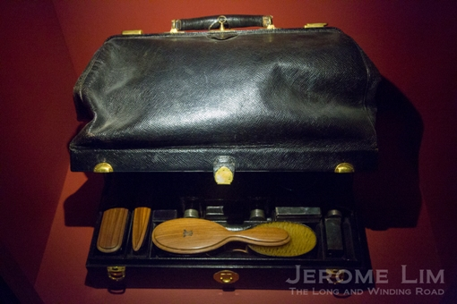 A travel case in the collection.
