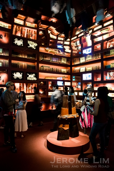 Inside Hermès' wonderful Little Room of Wanders at Empress Place.