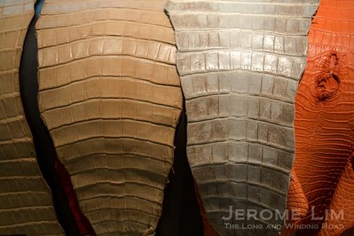 Part of Hermès' Leather Reserve.