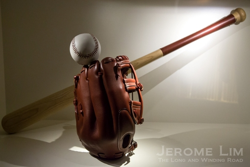 A baseball glove out of the Special Orders Workshop.