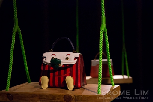 One of the five Kellydoll bags designed to each represent a decade of Singapore's independence.
