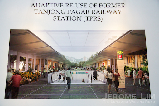 MKPL's and Turenscape's vision for Tanjong Pagar Railway Station.