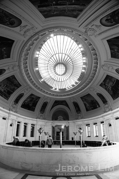 The rotunda of the Alexander Hamilton US Customs House at Bowling Green.