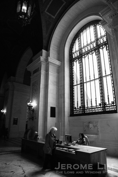 Inside the Alexander Hamilton US Customs House.