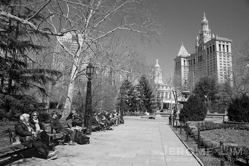 City Hall Park.