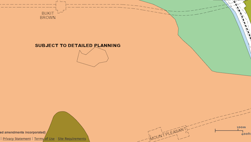 The URA Master Plan 2014 indicates that the area will be redeveloped in the future.