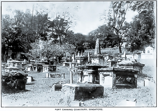 A general view of the cemetery in the 1912 JSBRAS paper.